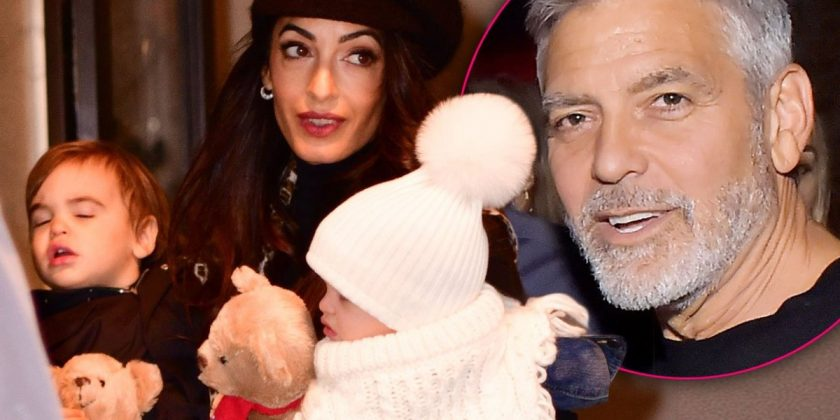 George Clooney Not Spotted With Twins In Almost 200 Days