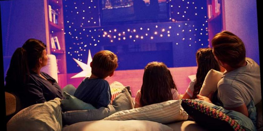11 Easy Ways To Fake A Movie Theater In Your Living Room Happy Lifestyle Inc