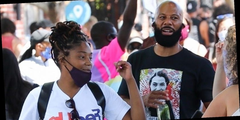 Tiffany Haddish Common March In Black Lives Matter Protest Happy Lifestyle Inc