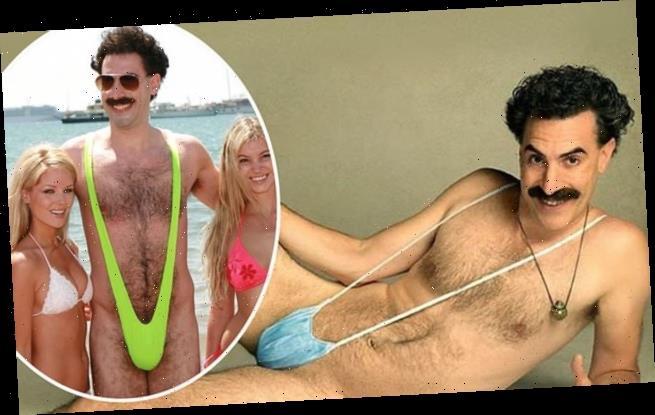 Borat 2 Sacha Baron Cohen Apos S Borat Wears A Face Covering In Poster Happy Lifestyle Inc